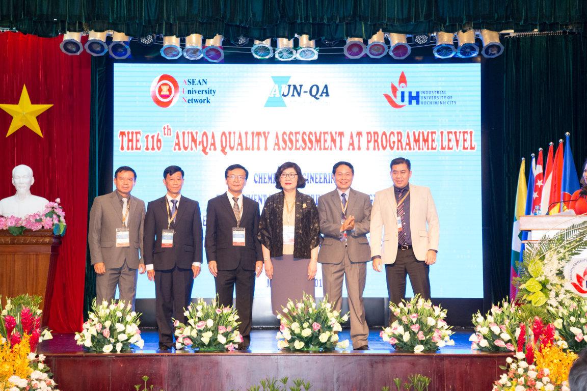 Lễ khai mạc lần đánh giá chất lượng AUN-QA cấp chương trình lần thứ 116, năm 2018 tại IUH