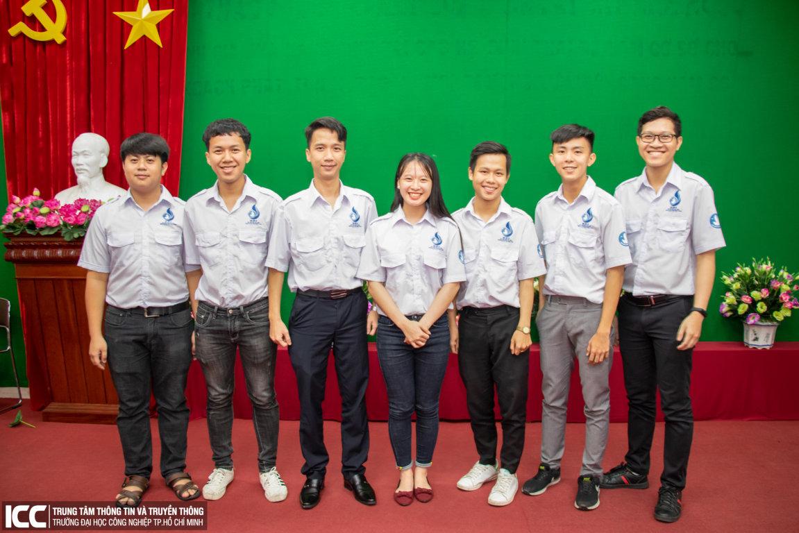 Bộ máy nhân sự Hội Sinh viên trường khóa mới đã hoàn thiện