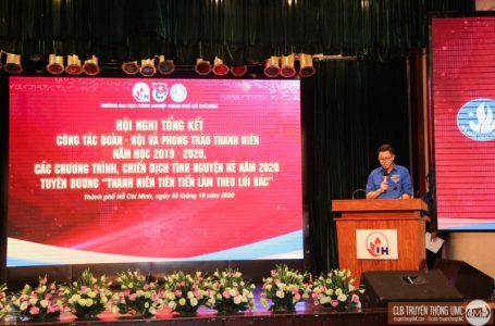 [Hội nghị tổng kết công tác Đoàn – Hội năm học 2019 – 2020, tổng kết các chương trình, chiến dịch tình nguyện hè năm 2020]