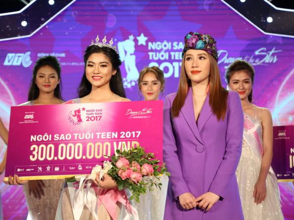 Sinh viên ĐH Công nghiệp TP.HCM đăng quang Ngôi sao tuổi teen 2017