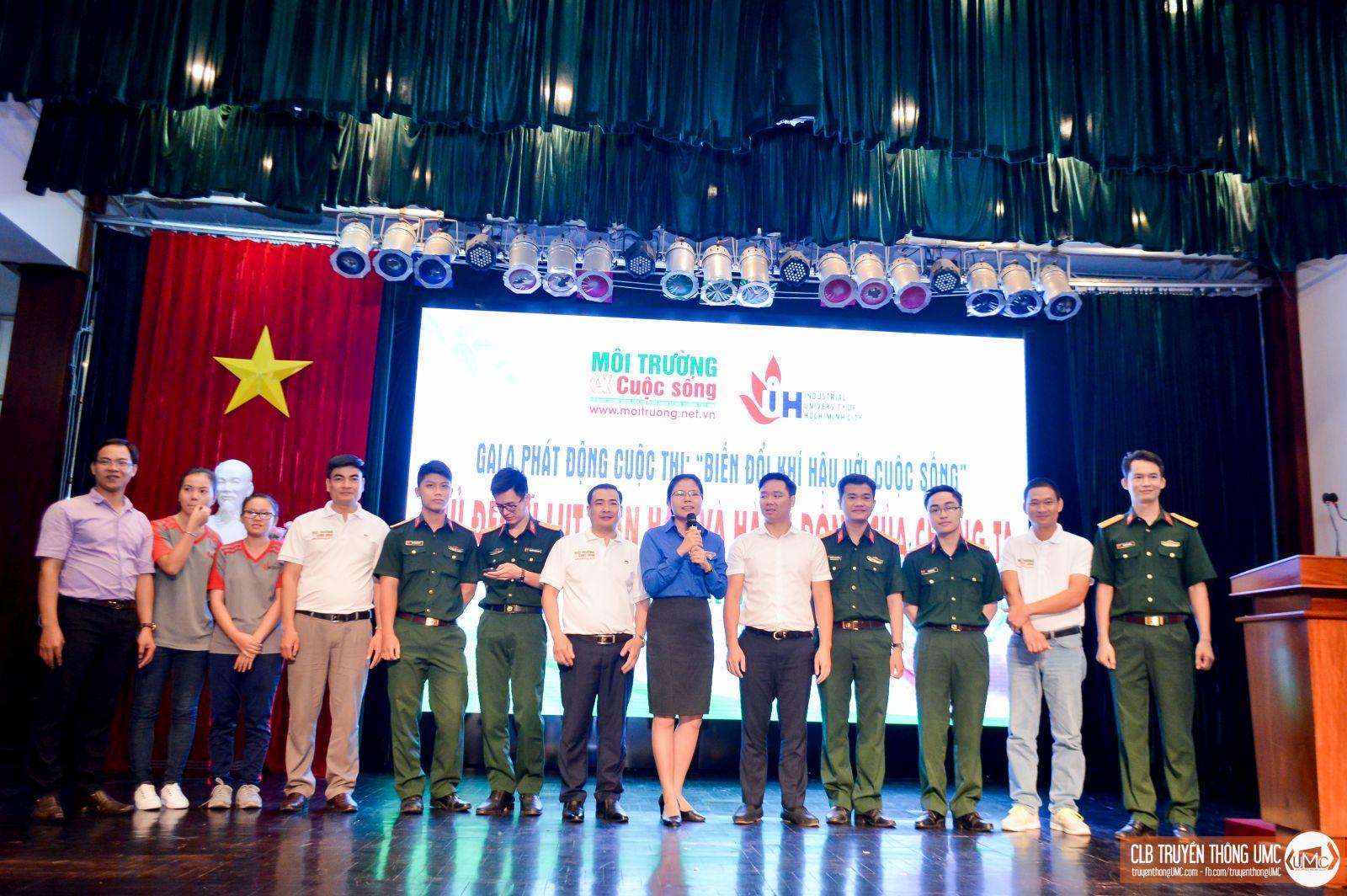 """Gala phát động cuộc thi """"Biến đổi khí hậu với cuộc sống"""" – chung tay vì một Việt Nam """"Xanh"""""""