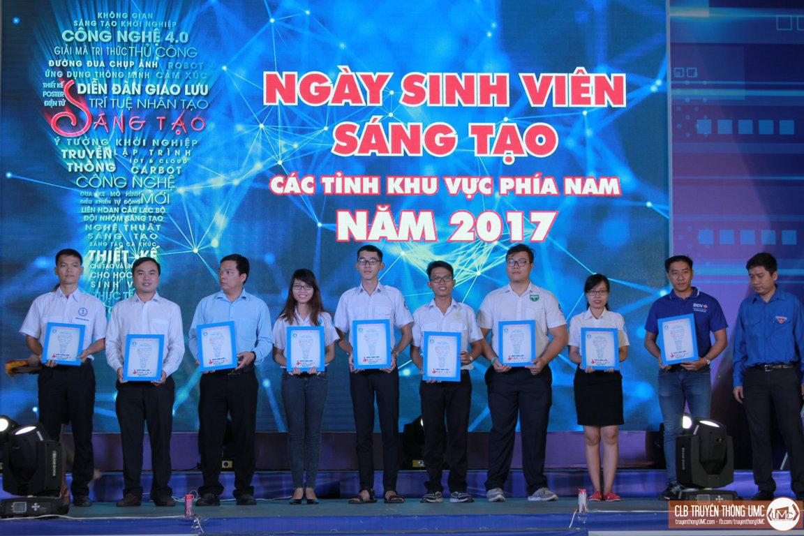 """Đại học Công nghiệp TP.HCM thành công từ """"Ngày sinh viên sáng tạo"""" mở rộng khu vực phía Nam năm 2017"""