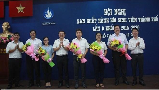 Anh Nguyễn Việt Quế Sơn làm Chủ tịch Hội Sinh viên TP. Hồ Chí Minh