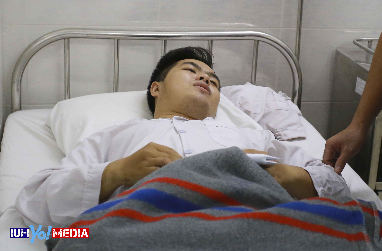 Hiệp sĩ Nguyễn Đức Huy – Sinh viên ĐH Công Nghiệp TPHCM đã qua cơn nguy kịch
