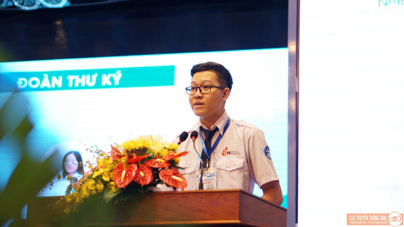 Phiên làm việc thứ nhất Đại hội Đại biểu Hội Sinh viên Việt Nam trường Đại học Công Nghiệp TP.HCM nhiệm kỳ VI (2018 – 2020) – Cần nâng cao vai trò của Hội Sinh viên trong các phong trào