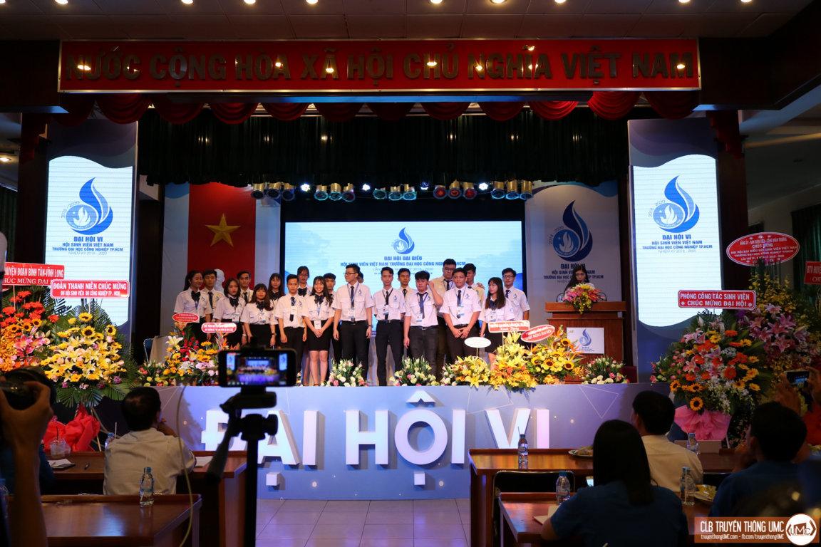 Kết thúc phiên làm việc thứ hai Đại hội Đại biểu Hội Sinh viên Việt Nam trường Đại học Công nghiệp TP.HCM lần thứ VI nhiệm kỳ (2018 – 2020) – đánh dấu một sự khởi đầu mới nhiều hứa hẹn