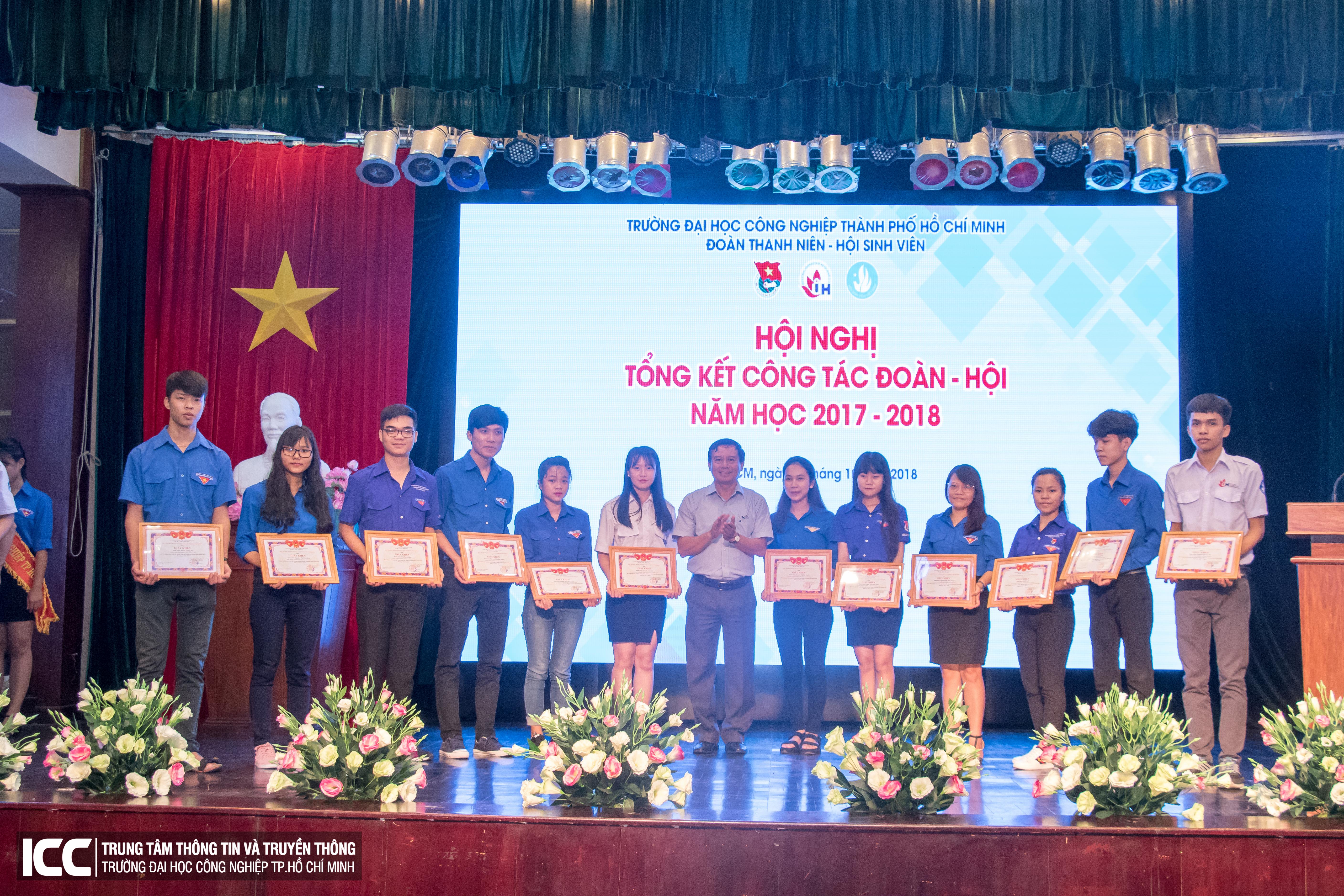 Tổng kết Công tác Đoàn – Hội 2018: Một năm hoạt động sôi nổi
