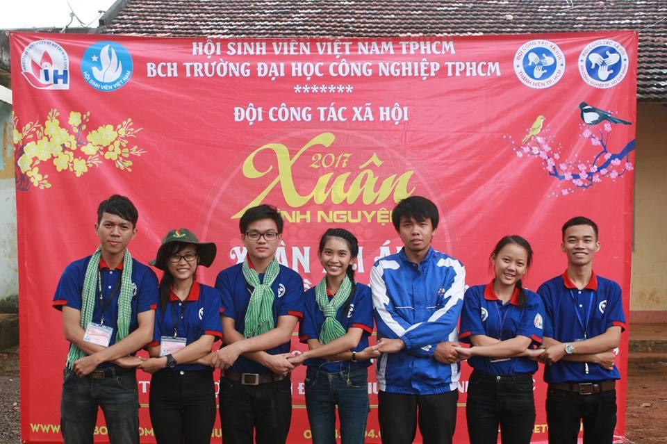 Đội Công tác Xã hội trường ĐH Công nghiệp TP.HCM