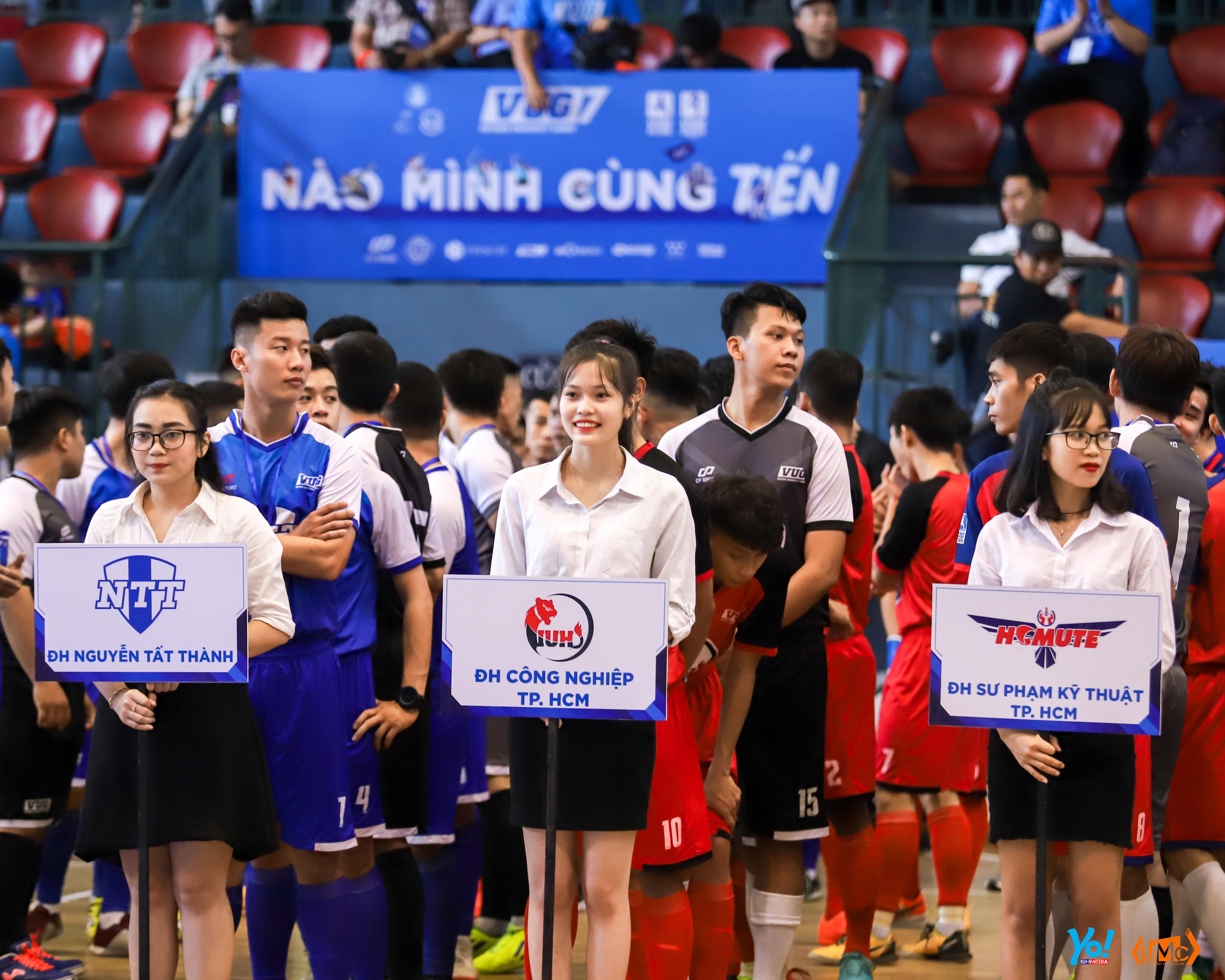Sôi động lễ khai mạc giải thể thao sinh viên Việt Nam VUG 2019 – Nơi sức trẻ được thử thách