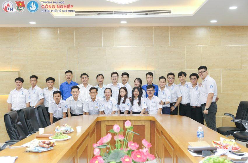 Tân Chủ tịch Hội Sinh viên Trường Đại học Công nghiệp TP.HCM Ngô Đình Luật