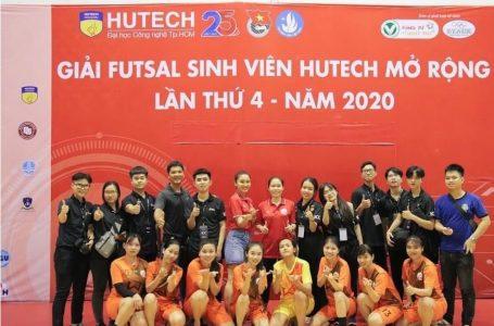 """Tuyển nữ sinh viên IUH """"thẳng tiến"""" vào chung kết giải HUTECH FUTSAL 2020"""